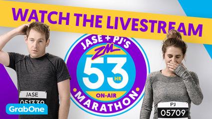 LIVE STREAM: Jase & PJ's 53 Hour On-Air Marathon
