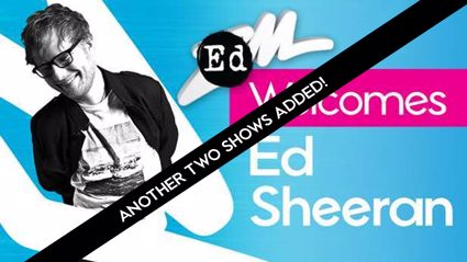 Ed Sheeran adds TWO MORE SHOWS to his NZ tour!