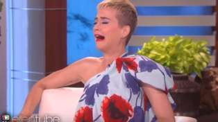 Watch Ellen DeGeneres awkwardly forget Katy Perry was married to Russell Brand
