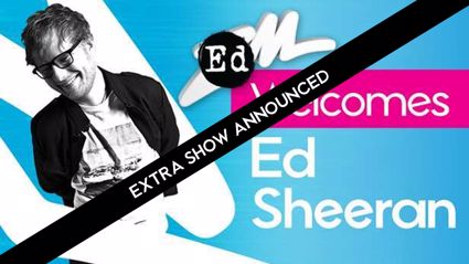 Ed Sheeran adds ANOTHER NZ show!
