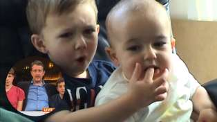 The 'Charlie Bit My Finger' brothers re-enact their iconic vid 10 years later