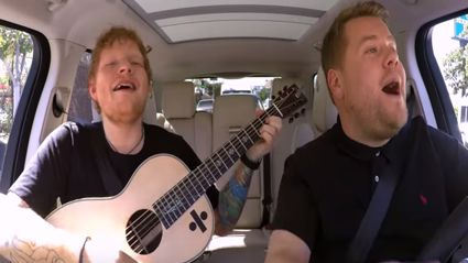 Ed Sheeran's Carpool Karaoke looks like it will be the best yet