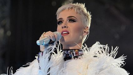 You probably missed the touching detail on the back of Katy Perry's 'One Love' dress
