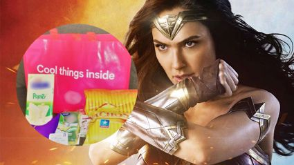 People are shocked by these sexist Wonder Woman goody bags