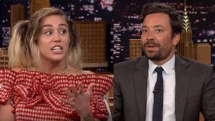 "Miley Cyrus to Jimmy Fallon ""I've always been very stoned on your show"""