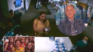 Ellen calls out audience member after catching her stealing on camera
