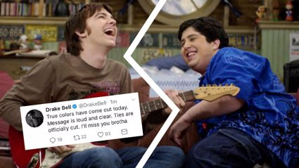 Drake and Josh have beef and we're crying