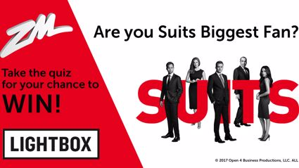 Show us you're Suits' biggest fan and be in to win!