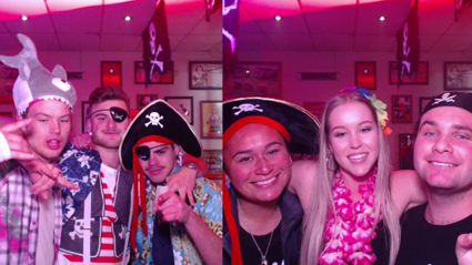 HAMILTON: ZM at Bar 101's Pirate Party