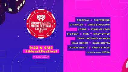 The iHeartRadio festival line up has dropped and it's massive!