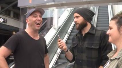 Watch Fletch's lamest dream of stopping an escalator come true