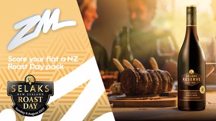 Win Your Flat a $300 Selaks New Zealand Roast Day Pack!