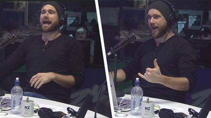 Vaughan spontaneously teaches us how to talk like a 'gym bro'