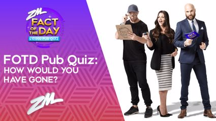 FVM's Fact of the Day Pub Quiz: How would you have gone?