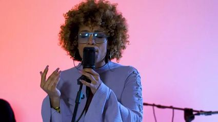 Starley performs 'Touch Me' Live in studio