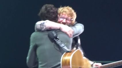 Ed Sheeran surprises fans at Shawn Mendes concert with 'Mercy' collaboration