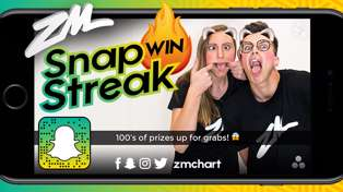 Win prizes with the ZM Snapchart's Snapstreak!