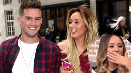 Charlotte Crosby's response to the Gary Beadle baby news involved tears