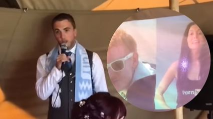 Pornhub helps groomsman stitch up best mate with embarrassing AF wedding speech