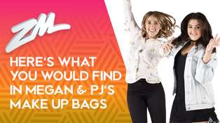 Find out what's in Megan and PJ's make up bags