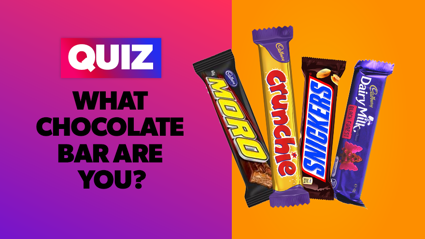 QUIZ: What chocolate bar are you?
