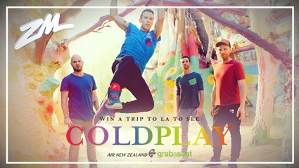 WIN a Trip to See COLDPLAY Live in Los Angeles
