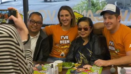 VIDEO: Meet and greets with DJ Sumirock!