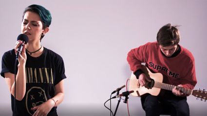 Watch Openside's acoustic performances of 'I Feel Nothing', 'Worth It' and more