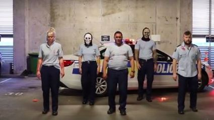 NZ Police go viral with Halloween video