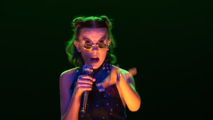 Millie Bobby Brown proves how incredibly talented she is with this insane rap