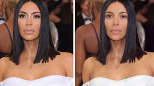 A new app lets you see what celebrities would look like with no makeup on