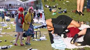 PHOTOS: The drunken aftermath of The Melbourne Cup 2017