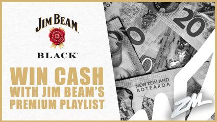 Win CASH with Jim Beam Black's Premium Playlist!