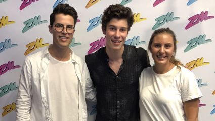 Shawn Mendes chats to Cam and Georgia!