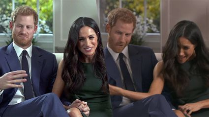 What you didn't see in Prince Harry and Meghan Markle's engagement interview