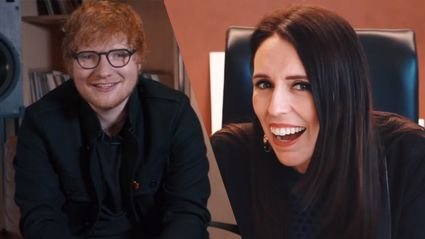 EXCLUSIVE: Jacinda Ardern responds to Ed Sheeran's citizenship request