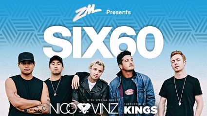 ZM Presents The New Waves World Tour - SIX60 with Nico & Vinz, supported by Kings
