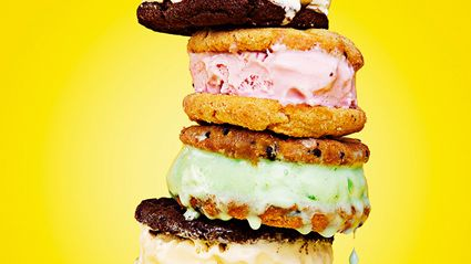 TipTop have just released an ice cream sandwhich for summer!