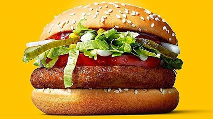 McDonald's launches their very first vegan burger