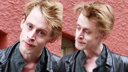 Macaulay Culkin doesn't look like this anymore...