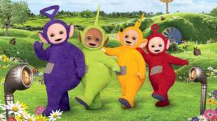 Teletubby Tinky Winky is dead! Well, the actor behind the suit is