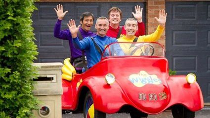 Remember the red Wiggle, Murray? Well this is what he looks like now