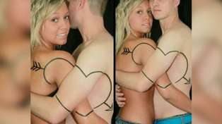 Single for Valentine's Day? These couple tattoos will make you feel much better...