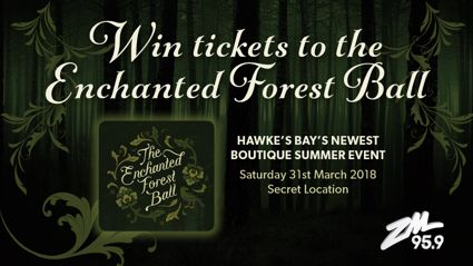 HAWKE'S BAY: Win tickets to The Enchanted Forest Ball