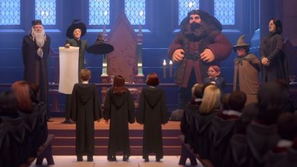 Get to Hogwarts in the new 'Harry Potter' mobile game!