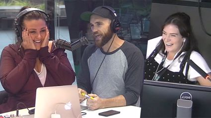 Vaughan makes emotional announcement on the show - they're adding to the family!
