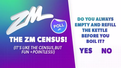 Take the ZM Census!