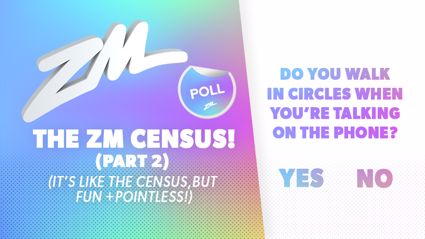 Take the ZM Census - ROUND 2!