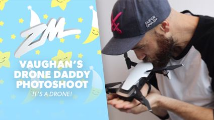 Vaughan did an extra AF photo shoot with his new baby drone