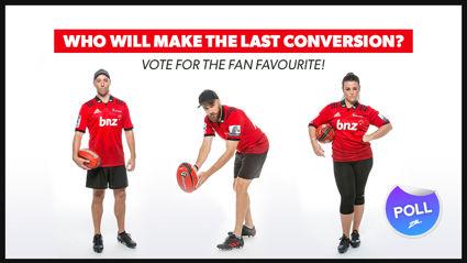 FVM's last conversion - vote for the fan favourite to make the kick